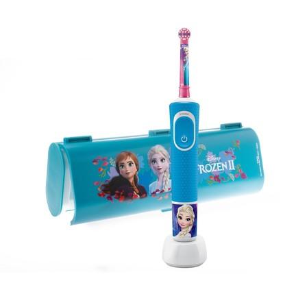 Oral-B Kids Frozen zubná kefka + cestovné puzdro