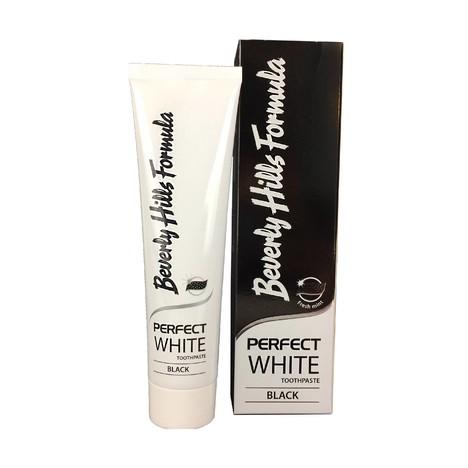 Beverly Hills Formula Perfect White Black zubná pasta 100 ml