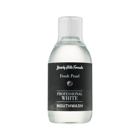 Beverly Hills Formula Professional White Fresh Pearl ústna voda 300 ml