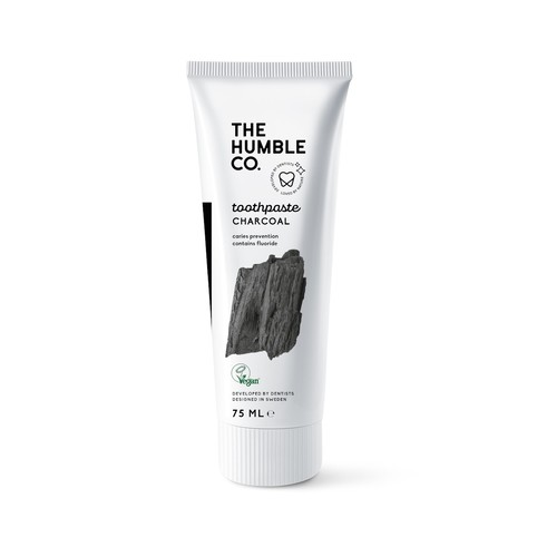 The Humble Charcoal zubná pasta 75 ml