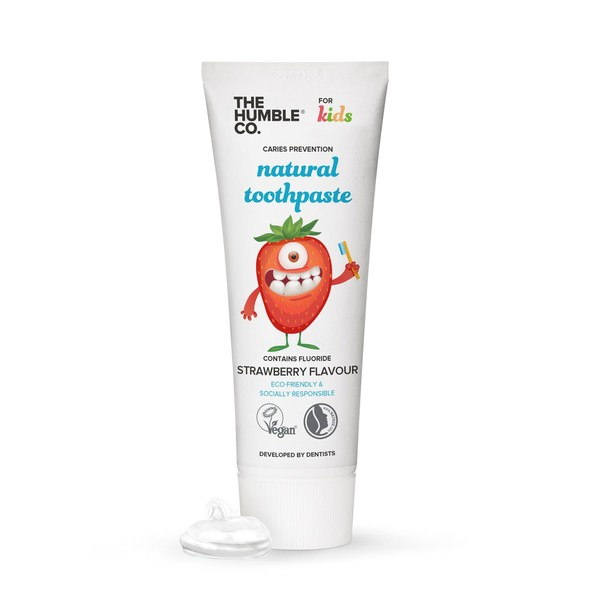The Humble for Kids Strawberry detská zubná pasta 75 ml