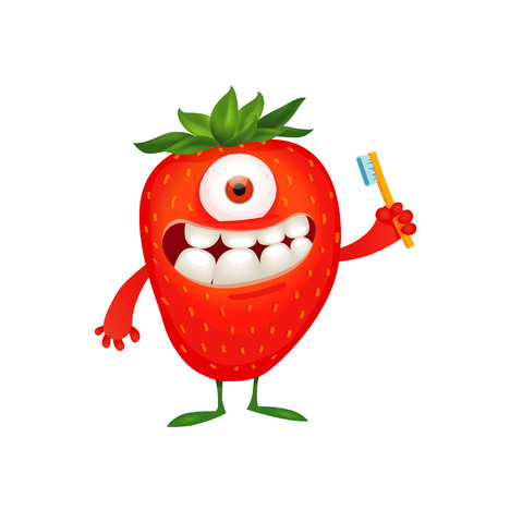 The Humble for Kids Strawberry detská zubná pasta 75 ml