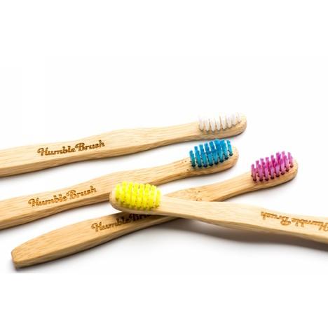 The Humble Brush Kids Ultra-Soft zubná kefka 1 ks