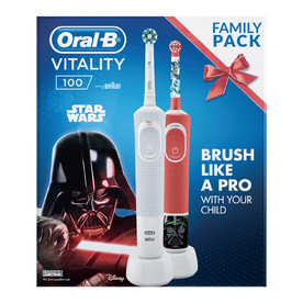 Oral-B Vitality 100 + Oral-B Kids Star Wars