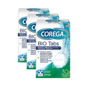 Corega Antibakteriálne čistiace tablety 3×30 ks