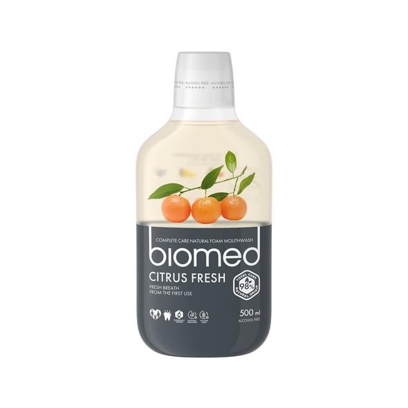 Biomed Citrus Fresh ústna voda 500 ml