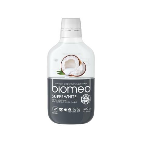 Biomed Superwhite ústna voda 500 ml