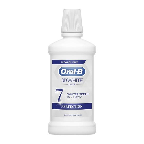 Oral-B 3D White Luxe Perfection ústna voda 500 ml