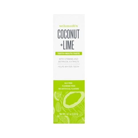 Schmidt's Coconut + Lime zubná pasta 100 g