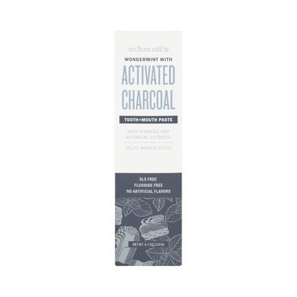 Schmidt's Activated Charcoal zubná pasta 100 ml