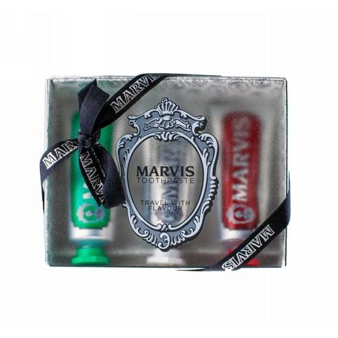 Marvis Set Strong & Whitening & Cinnamon darčeková sada 3×25 ml