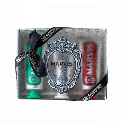 Marvis Set Strong & Whitening & Cinnamon darčeková sada 3×25 ml