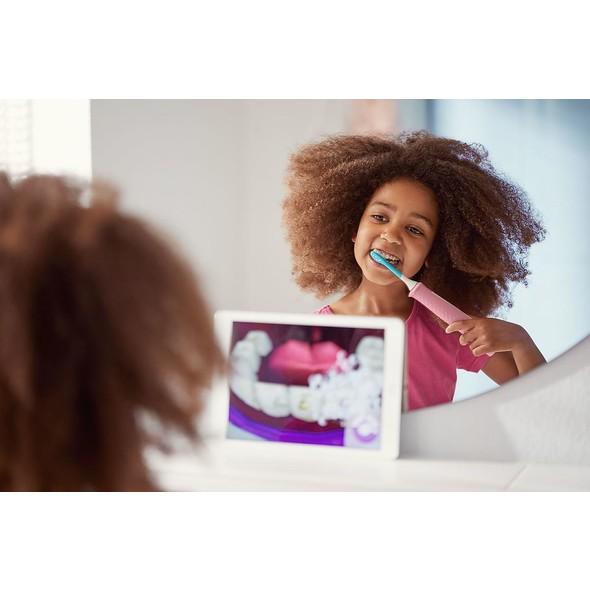 Philips Sonicare HX6352/42 for Kids Pink detská sonická kefka