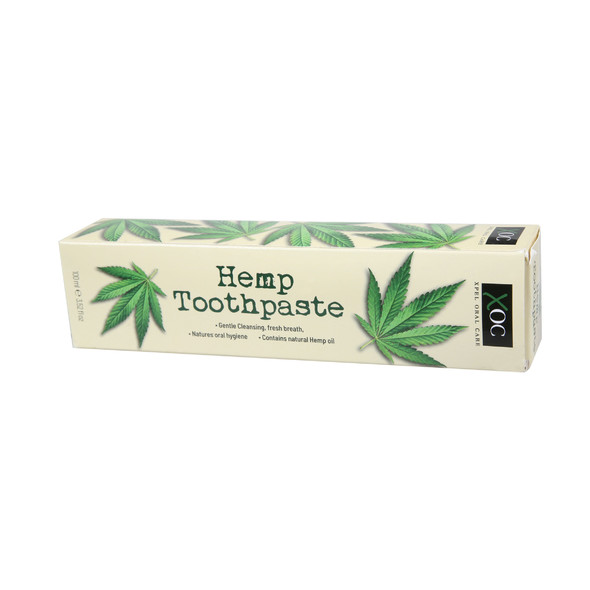 XOC Hemp konopná zubná pasta 100 ml