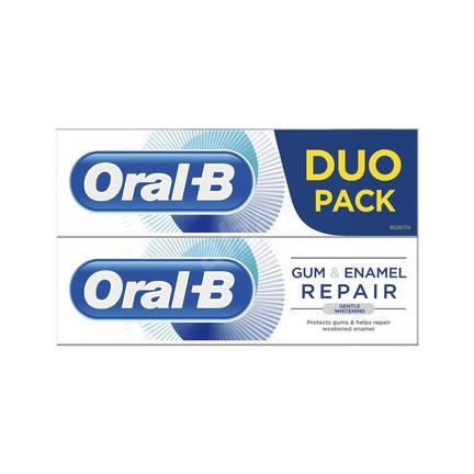 Oral-B Gum & Enamel Gentle Whitening zubná pasta 2x75 ml