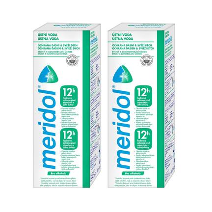 Meridol Safe Breath ústna voda 2x400 ml