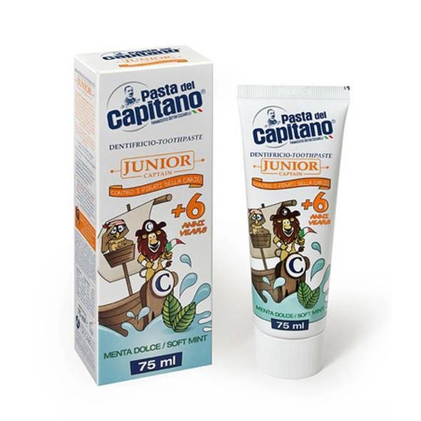Pasta del Capitano Junior detská zubná pasta 75 ml