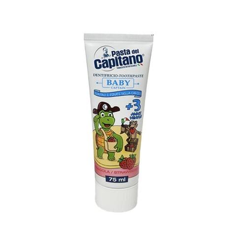 Pasta del Capitano Baby Strawberry detská zubná pasta 75 ml