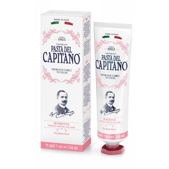 Pasta del Capitano Sensitive zubná pasta 75 ml