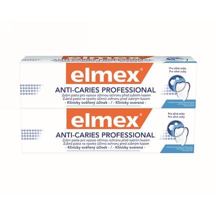 Elmex Anti Caries Professional 2x75ml + Elmex 400 ml