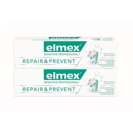 Elmex Sensitive Professional Repair & Prevent 2x 75 ml + Elmex 400 ml