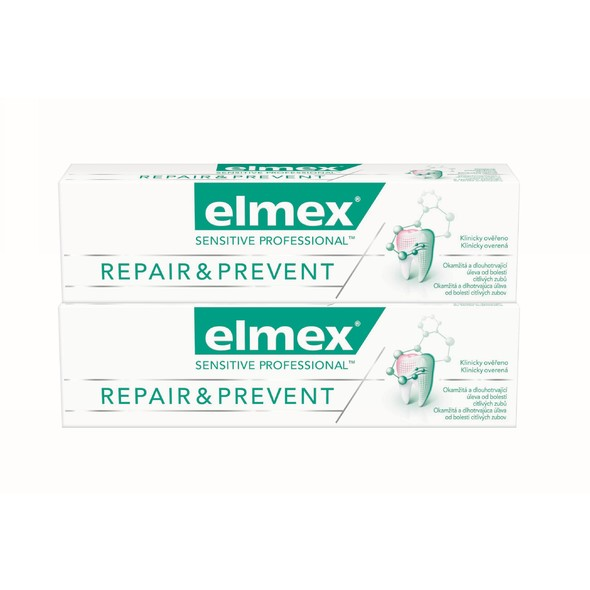 Elmex Sensitive Professional Repair & Prevent 2x 75 ml + Elmex 400 ml