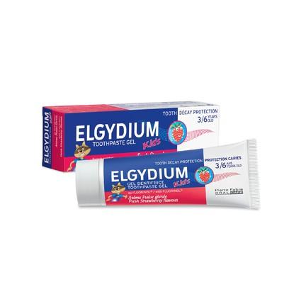 Elgydium Kids Strawberry detská zubná pasta 50 ml
