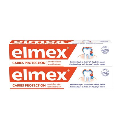 Elmex zubná pasta 2x75ml