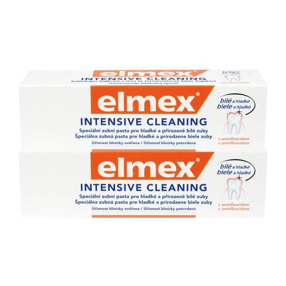 Elmex Intensive Cleaning zubná pasta 2x50 ml