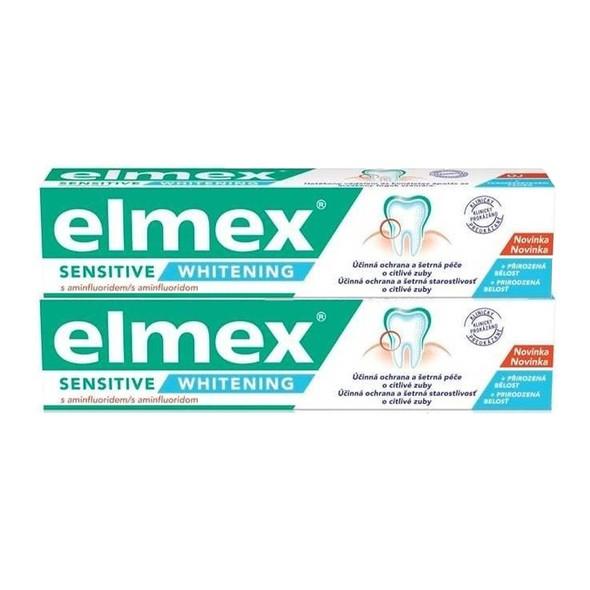 Elmex Sensitive Whitening zubná pasta 2x75 ml