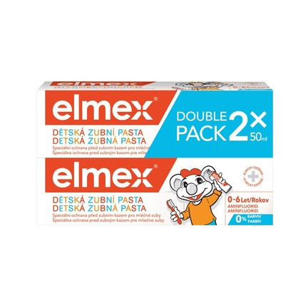 Elmex Kids detská zubná pasta 2x50 ml