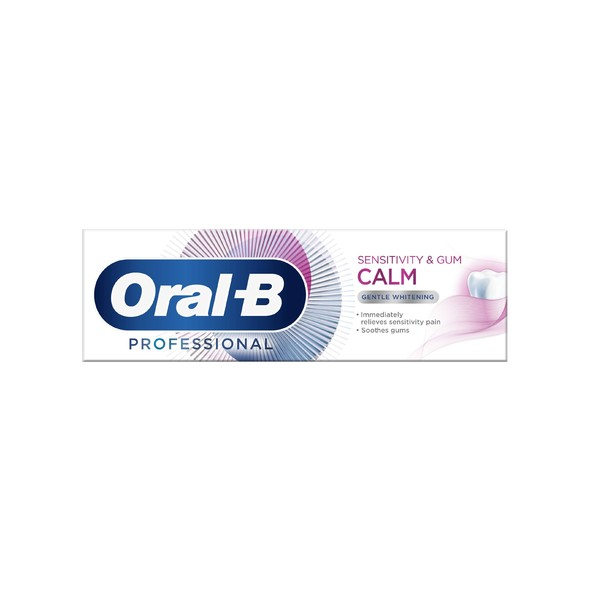 Oral-B Professional Sensitivity & Gum Calm Whitening zubná pasta 75 ml