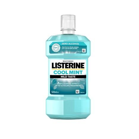 Listerine Cool Mint Mild Taste ústna voda 500 ml