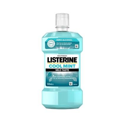 Listerine Coolmint Mild Taste ústna voda 500 ml