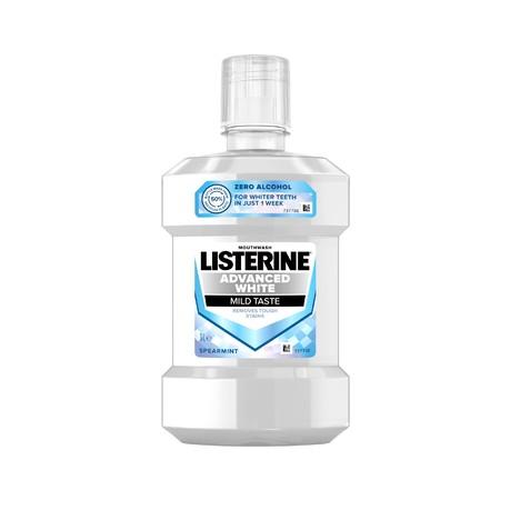 Listerine Advanced White Mild Taste ústna voda 1000 ml