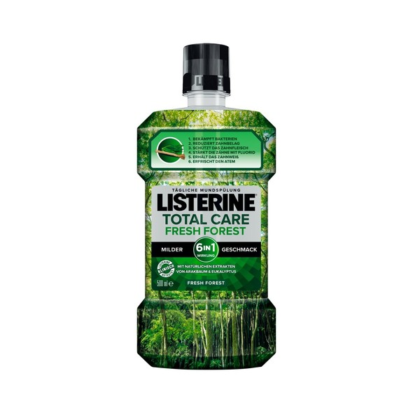 Listerine Total Care Fresh Forest ústna voda 500 ml