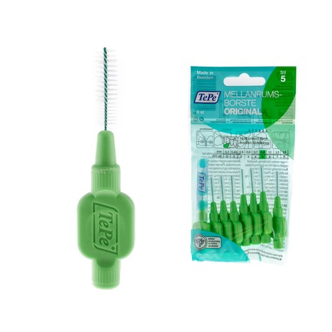 TePe 0,80 medzizubné kefky zelené 8 ks
