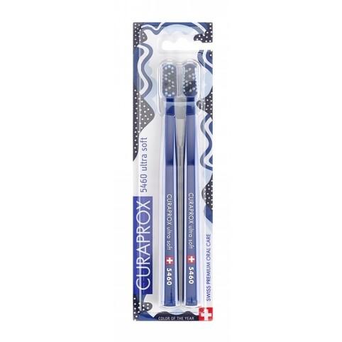 Curaprox CS 5460 Ultrasoft Classic Blue zubná kefka 2 ks