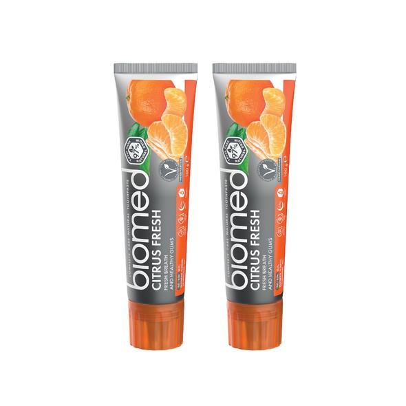 Biomed Citrus Fresh zubná pasta 2x100 g