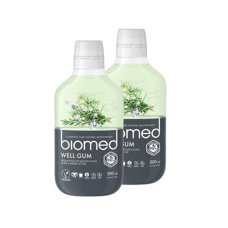 Biomed Well Gum ústna voda 2x500 ml
