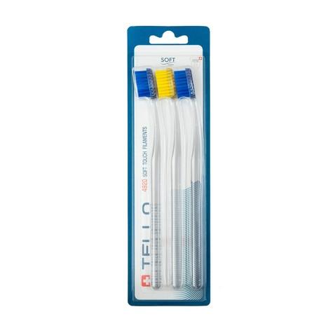Tello 4920 Soft zubná kefka 3 ks