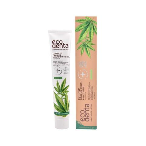 Ecodenta Organic Multifunctional Hemp Oil zubná pasta 75 ml
