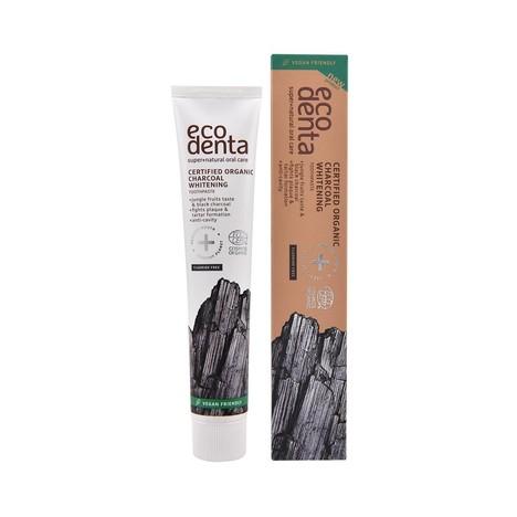 Ecodenta Organic Charcoal Whitening zubná pasta 75 ml