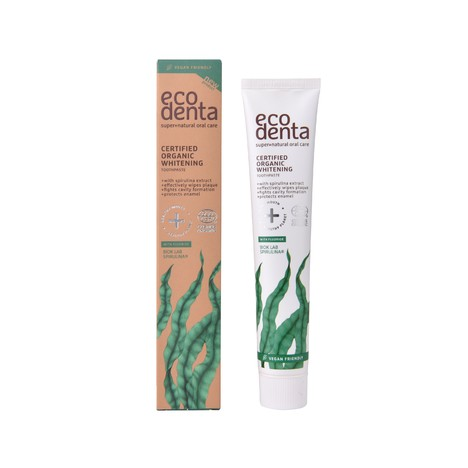 Ecodenta Organic Whitening Spirulina zubná pasta 75 ml
