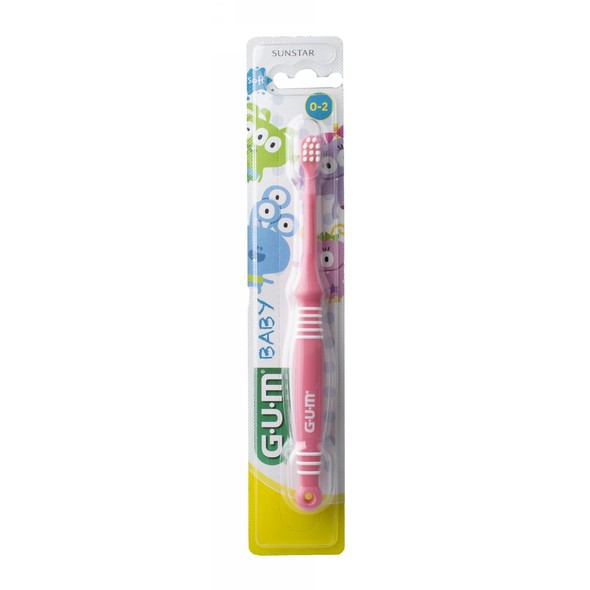 GUM zubná kefka Baby (0-2 roky)