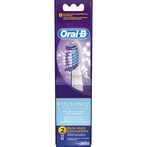 Oral-B Pulsonic SR 32-2 náhradní kartáčky 2ks