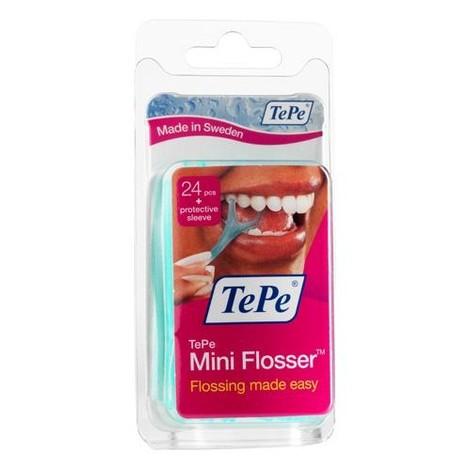 TePe Mini Flosser zubná niť v mečíku 24ks