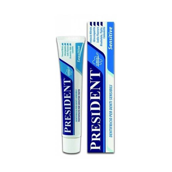 PresiDENT Sensitive zubná pasta 75 ml