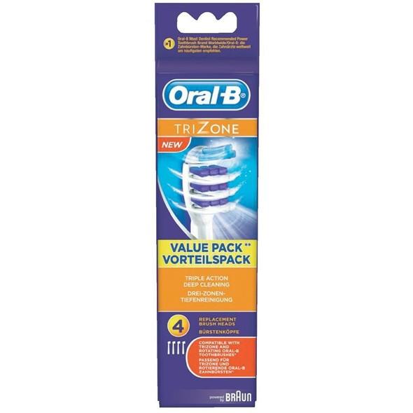 Braun Oral B Trizone EB 30-4 náhradné kefky 4ks