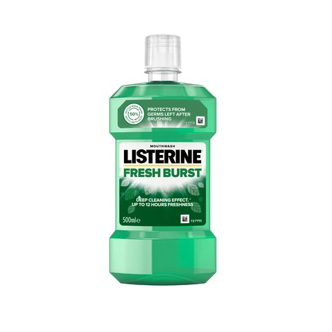 Listerine Fresh Burst ústna voda 500 ml